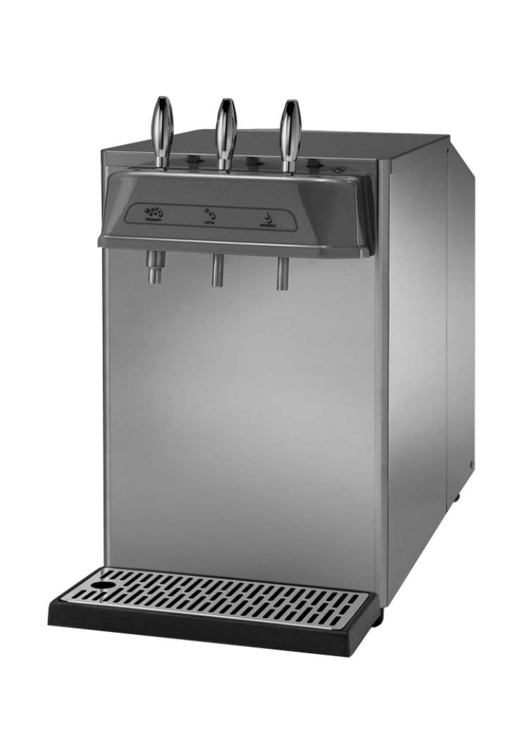 Frigo gasatore per acqua di rete professionale Euros ice 40  EcoBay Shop